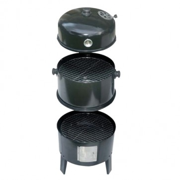 Charcoal Smoker & Grill