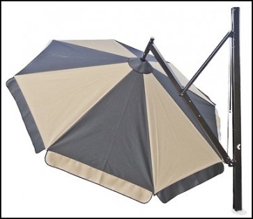 Ultimate Deluxe Height Adjustable Canopy Umbrella