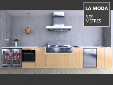 Euro Alfresco - LA MODA Package 5.09 Metres