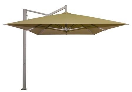r r de luxe rectangle side post cantilever umbrella. Black Bedroom Furniture Sets. Home Design Ideas