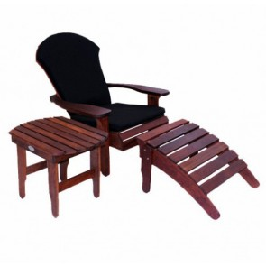 Adirondak Lawn Chair & Footstool