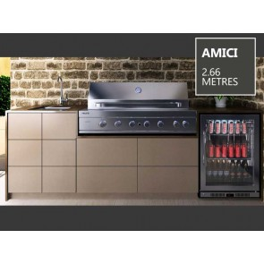 Euro Alfresco - AMICI Package 2.66 Metres