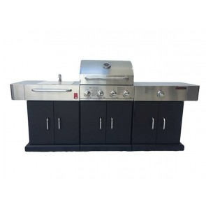Bosston 4 Burner Outdoor Entertainment Kitchen