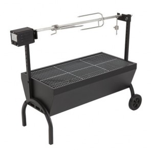 Large Charcoal Spit Roaster