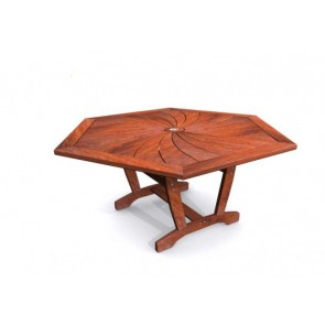 Cuba 1550mm Hexagonal Table