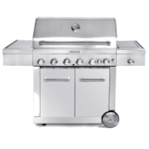 KitchenAid BBQs with Cabinets