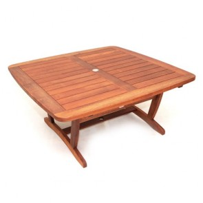 Tobago Barrel Square Table