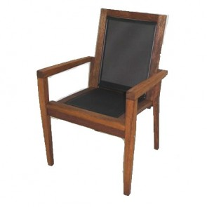 Sorrento Stacking Arm Chair