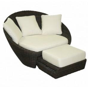 Morea Chair & Ottoman