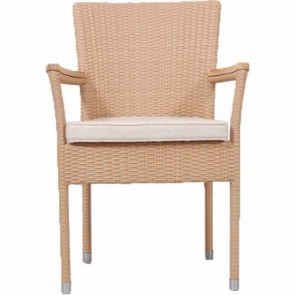 Karibik Stacking Arm Chair