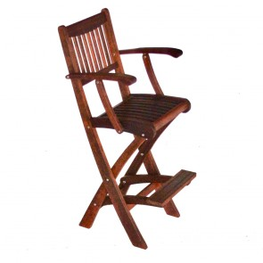 Miami Folding Bar Stool with Arms