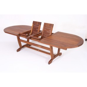 Barbados Oval Twin Extension Table